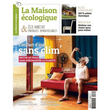 couverture n°116 La Maison écologique