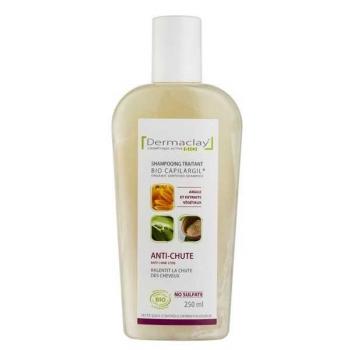 Shampoing Bio traitant anti chute -250 ml - Capilargil - Dermaclay