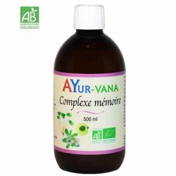 Complexe Mémoire BIO - 500 ml - Ayur-vana