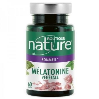 Mélatonine végétale - 60 gélules - Boutique Nature