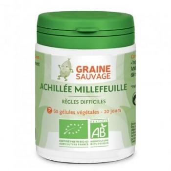 Achillée millefeuille Bio - 60 gélules - graine sauvage