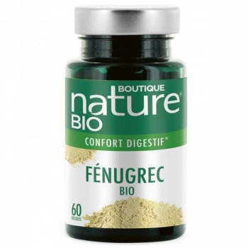 Fenugrec BIO - 60 gélules - Boutique Nature
