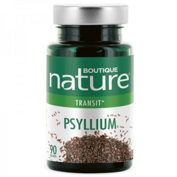 Psyllium - 90 gélules - Boutique Nature