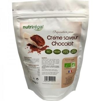 Crême saveur chocolat - SUPER FOOD - BIO - Doypack 300 g - Nutrirégal