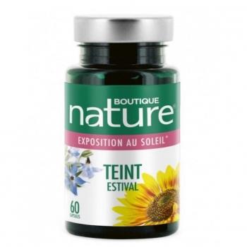 Teint estival - Boutique nature - 60 Gélules