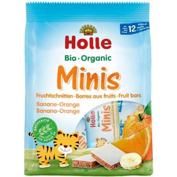 HOLLE - barre aux fruits, banane orange, dès 12 mois, 100g