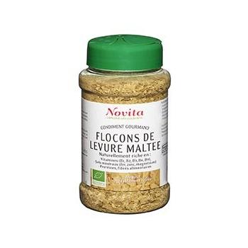 Flocons de Levure Maltée 150g Bio - Novita