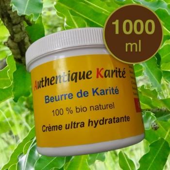 Beurre de karité - Grand Cru 1000ml