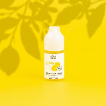 Huile essentielle BIO Citron 30mL - ATELIER POPULAIRE