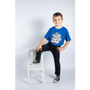 KY-KAS t-shirt enfants coton bio col rond (musique)