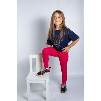 KY-KAS t-shirt enfants coton bio col rond (papillon)
