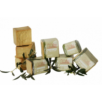 Collection découverte de savon d'Alep solide 5 pièces