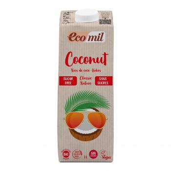 Lait de Coco Nature Classic 1L Bio - Ecomil