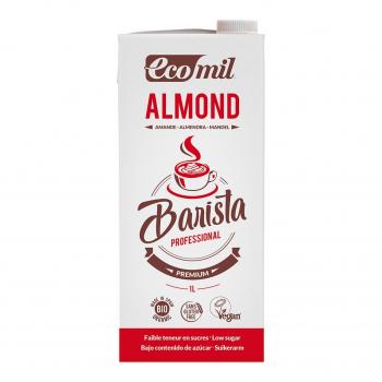 Lait d'amandes pour Barista 1L Bio - Ecomil