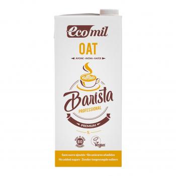 Boisson à l'avoine pour Barista 1L Bio - Ecomil