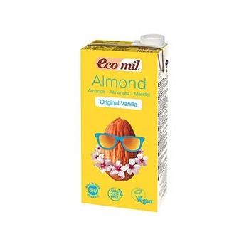 Lait Amandes Vanille 1L Bio - Ecomil