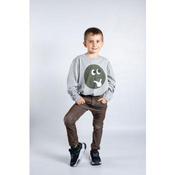 KY-KAS t-shirt enfants manches longues coton bio (le monde)