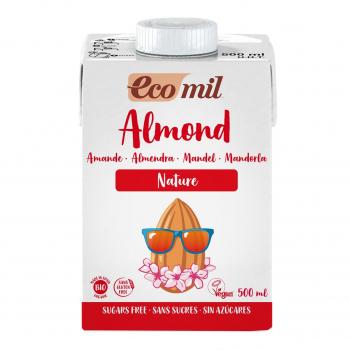 Lait Amandes Nature 500ml Bio - Ecomil