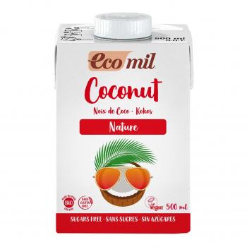 Lait Coco Nature 500ml Bio - Ecomil