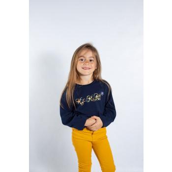 KY-KAS t-shirt enfants manches longues coton bio (fleurie)