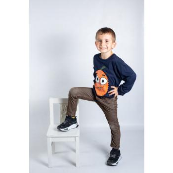 KY-KAS t-shirt enfants manches longues coton bio