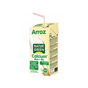 Boisson Riz-Calcium Nature 200ml Bio - Naturgreen