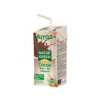 Boisson Riz-Cacao-Calcium 200ml Bio - Naturgreen