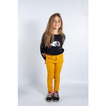 KY-KAS t-shirt enfants manches longues coton bio (oeil)