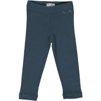 Legging coton biologique Orion bleu