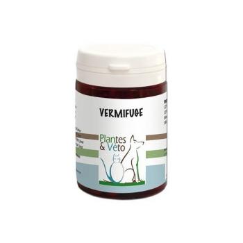 Vermifuge pour les animaux - Plantes et Véto - 25 Comprimés