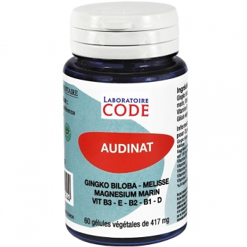 Audinat - 60 gélules - Code