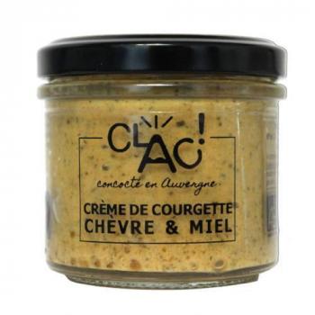 Tartinable Fromagé Bio - Crème de Courgette Chèvre et Miel - 100 g
