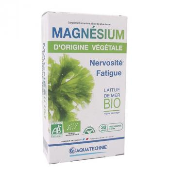 Magnésium Végétal Bio - 30 gélules - Aquatechnie