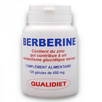 Berberine et Zinc - 450 mg - 120 gélules - Vital Osmose .