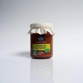 Crème de caramel Bio - 110 g - Le bois jumel