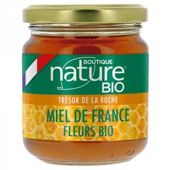 Miel de Fleurs BIO - origine France - Boutique Nature