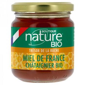 Miel de France Châtaignier Bio - 250 g - Boutique Nature