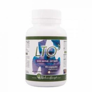 LTO 3 Sans saveur - 90 gélules - Herb-e-concept