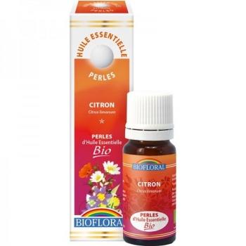 Perles essentielles citron Bio - 20 ml - BIOFLORAL -