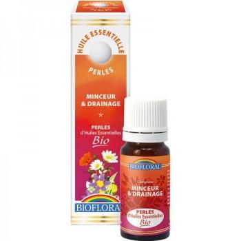 Perles d'huiles essentielles Bio - complexe minceur et drainage - 20 ml - Biofloral