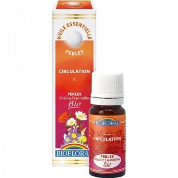 Perles d'huile essentielle Bio - Circulation - 20 ml - Biofloral