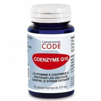 Co-enzymze Q 10 - 60 gélules - Laboratoire Code