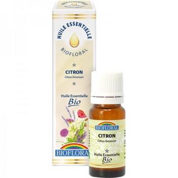 Huile essentielle BIO Citron - 10 ml - Biofloral