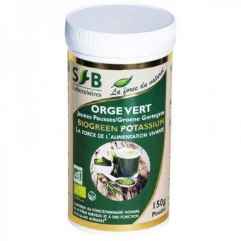 Orge vert Bio - jeunes pousses - 150 g - Laboratoires SFB