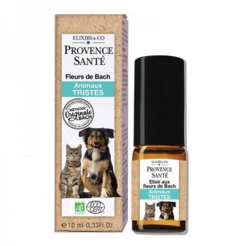 Elixir Fleurs de Bach Bio - animaux tristes - spray 10 ml - Provence Santé