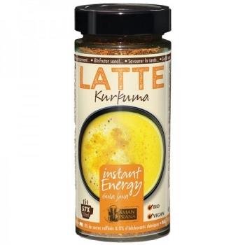 Latte Kurkuma Bio -instant energy - 170 g - Amanprana