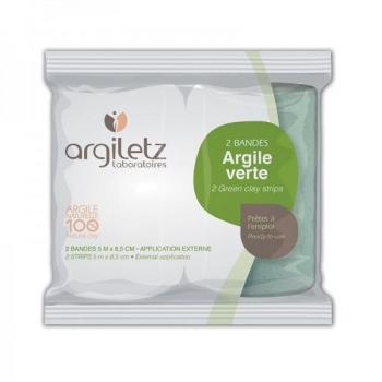 2 bandes d'Argile verte prête à l'emploi - Argiletz