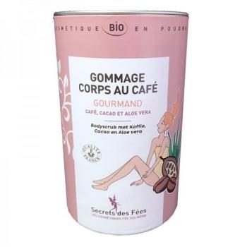 Gommage corps au café gourmand Bio - 200 g - Secrets des Fées .