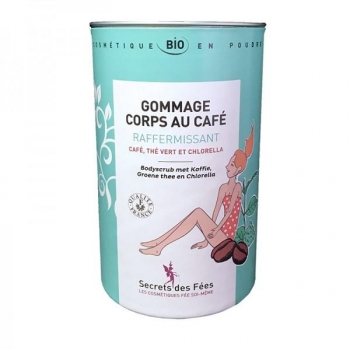 Gommage corps au café raffermissant Bio - 200 g - Secrets des Fées