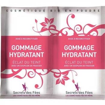 Gommage hydratant Bio éclat du teint - 2 X 4 g - Secrets des Fées .
